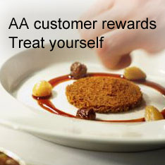 Rewards for being an AA customer