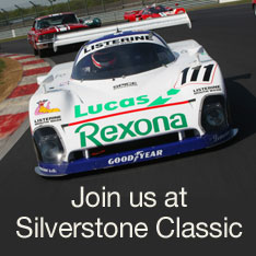 Join us at Silverstone Classic