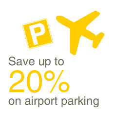 Save up to 20% on airport parking