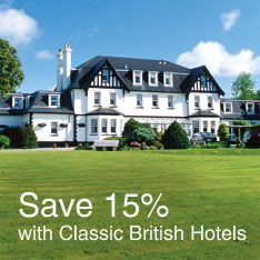 Save 15% with Classic British Hotels