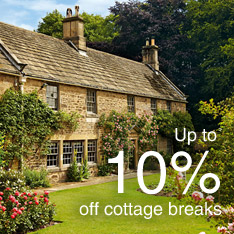 10% off cottage breaks