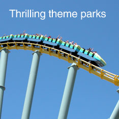 Thrilling theme parks