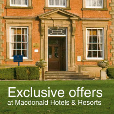 Exclusive offers with MacDonald Hotels and Resorts