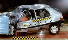 Euro NCAP crash tests and car safety ratings