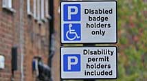Blue badge users