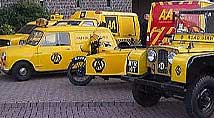 Historic AA vehicles