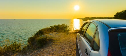 high temperatures and busy holiday routes put extra demands on car and driver