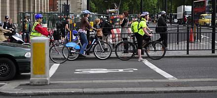 The Highway Code highlights the risks and dangers to vulnerable road users at junctions but makes it clear that responsibility for safety is shared between all road users