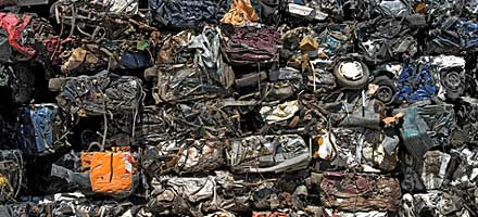 Category A - scrap/crush only, no economically salvageable parts e.g. total burnouts