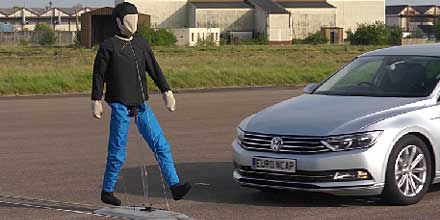 Euro NCAP Puts autonomous detection of pedestrians to the test