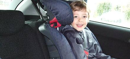 Booster seats are popular with parents because they're light and easy to fit