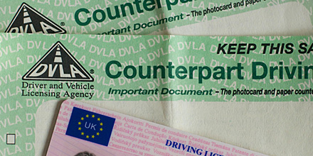 The paper counterpart to the photocard licence was abolished from 8 June 2015