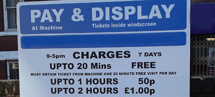 Don't pay cash to anyone issuing a parking charge notice