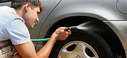 Professionals and managers prefer more to wash their cars every couple of months