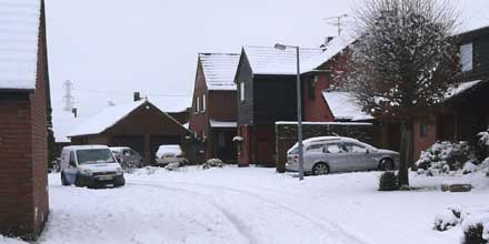 More than half of AA members (52%) are struggling to get out of their ice and snow-bound neighbourhoods