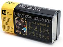 Keep your lights shining with the AA Universal Bulb Kit