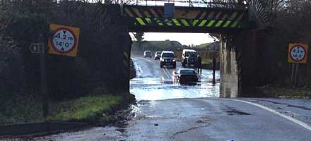 Drivers send councils a warning shot on persistent puddles, pools and ponds on Britain's highways