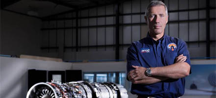 Bloodhound Super Sonic Car driver Andy Green