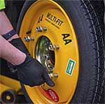 The AA's multi-fit spare wheel