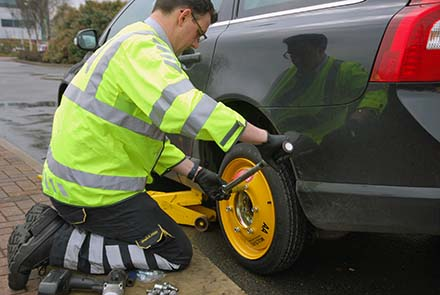 The AA Multi-fit spare wheel