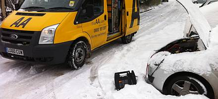 More misery as big freeze continues – AA advice and breakdown update