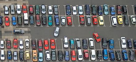 Around 15% of all car crimes occur in car parks