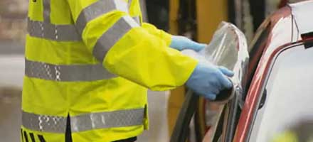 AA patrols are now trained in emergency glass repairs