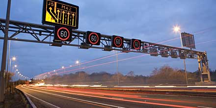 while motorways carry 21% of the traffic they account for just 5.4 % of fatalities