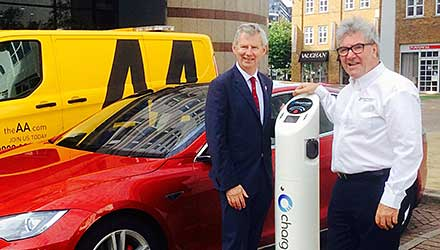 AA and Chargemaster join forces to bust myths and fully charge the electric car revolution