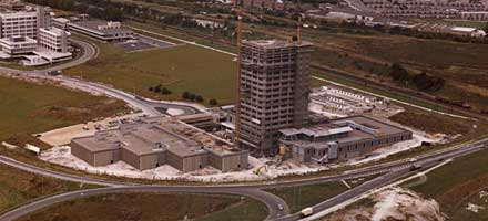 Fanum House construction (1972)