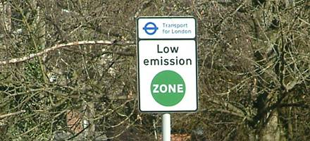 Low Emission Zones mean daily charges for older, more polluting vehicles entering London