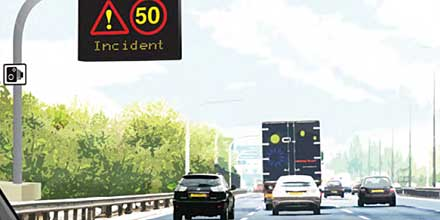 Drivers need 'smart' thinking on M25 with no hard shoulder