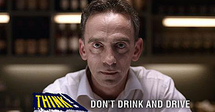 Think Don T Drink And Drive Campaign 2012 Aa