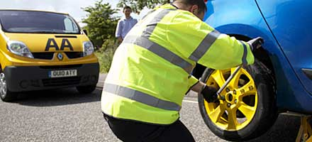 The AA was invited to set and judge the technical challenges for the FIA (Fédération Internationale de l'Automobile) Road Patrol Contest