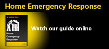 Watch the Home Emergency Response video guide on YouTube