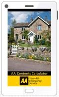 Download the AA Contents Calculator app