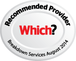 Which? Recommended Provider Breakdown Services