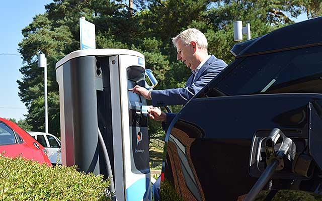 Driving an electric car | AA