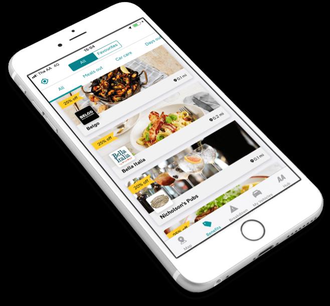 The AA app | AA