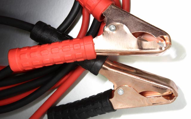 Using jump leads