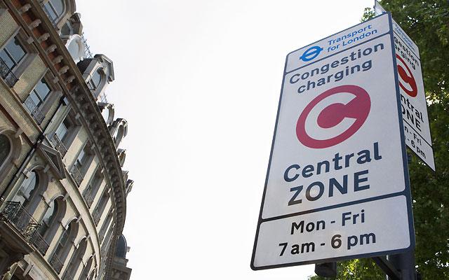 Congestion charging over christmas 2019 gift
