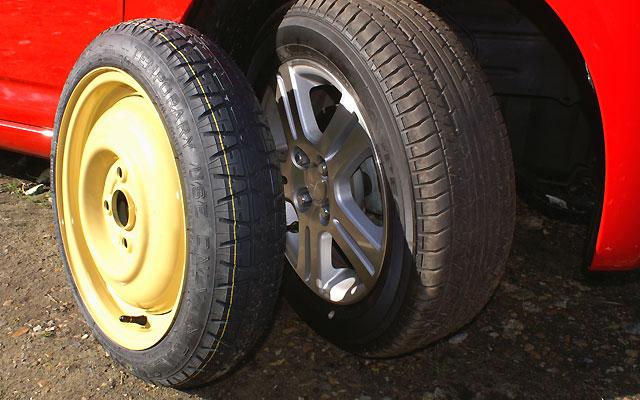 Non Standard Spare Wheels