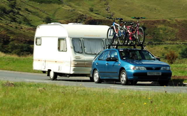 Caravan registration identification scheme