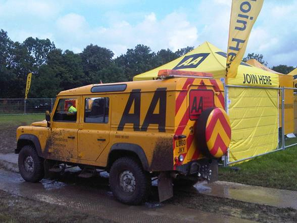 Land rover aa pic