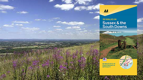 50 Walks in Sussex & the South Downs