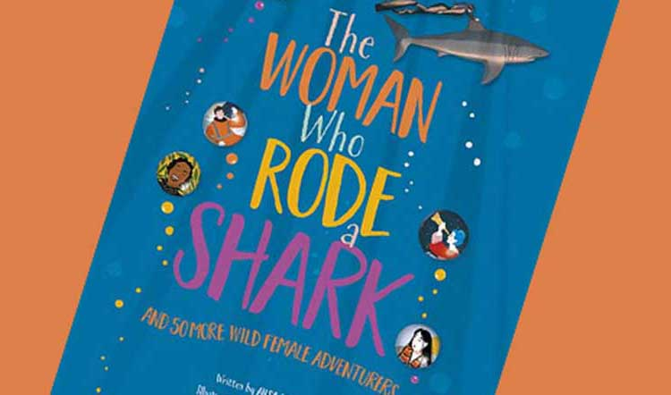 The Woman Who Rode a Shark cover