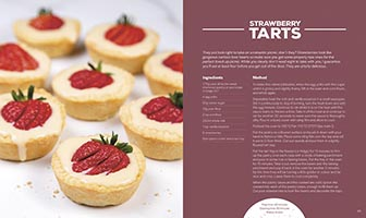 The Picnic Book – strawberry tarts recipe