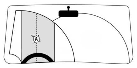 Windscreen zone A 440