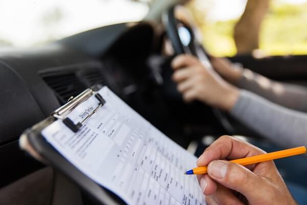 How to calm nerves before a driving test