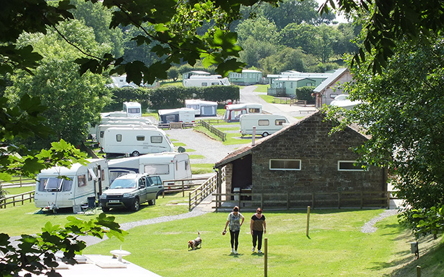 Coty north east 4562 cote ghyll caravan camping park